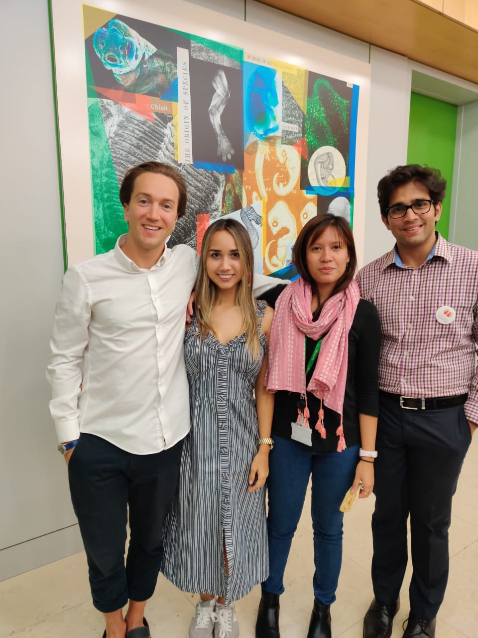 """HCWH staff and partners at """"Temperature Check: Youth Action on Health and Climate"""", July 2019"""